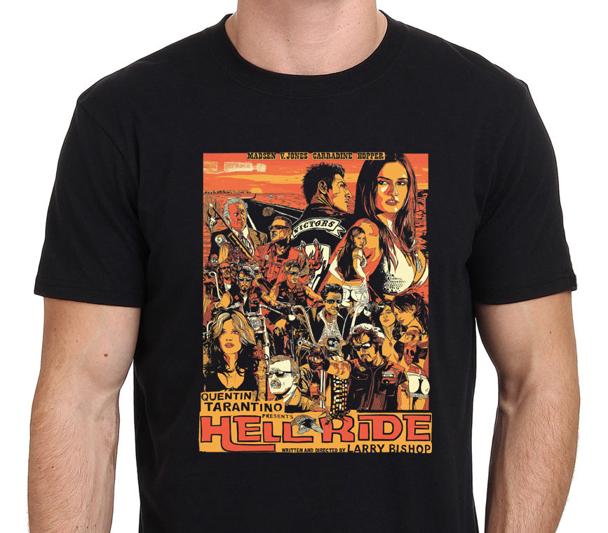 graphic-tees-sale-hell-ride-quentin-font-b-tarantino-b-font-movie-art-poster-men's-new-style-o-neck-short-sleeve-tee-shirt
