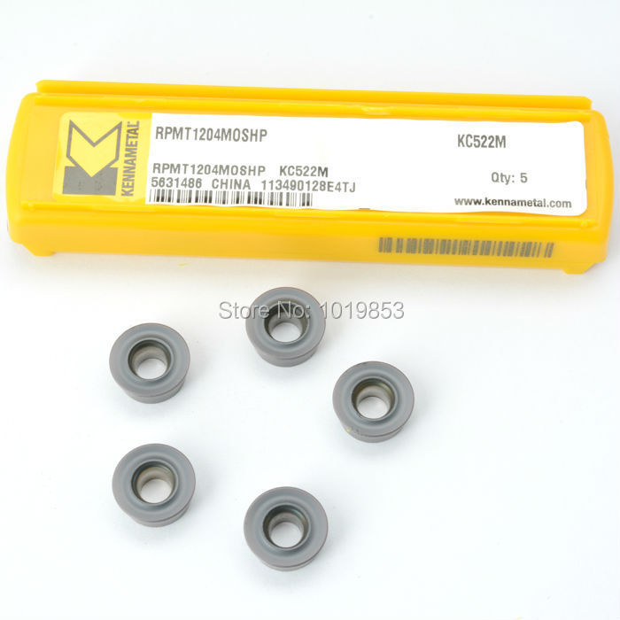 RPMT1204 MOSHP KC522M kennametal Original carbide milling inserts for indexable end milling cutter CNC machine  цены