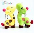 Hanhanho 13 см Милые Плюшевые Игрушки Жираф Кулон Маленький Олень Брелок Подвеска Для Сумки Продвижение Подарок