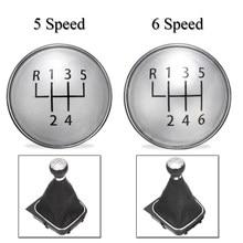 5 Speed 6 Speed Gear Knob Emblem Badge Cover Cap For VW Golf Jetta MK5 MK6 Rabbit Bora