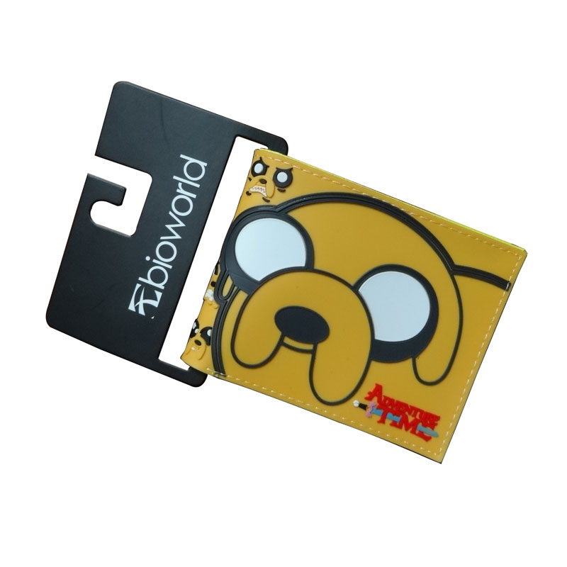 New Designs Adventure Time Wallets Card Holder Dollar Bags Cartoon Anime Gift Purse Men Women Leather Short Wallet new designs harry potter print purse dollar price anime wallet leather card holder bags gift men women zipper short wallets