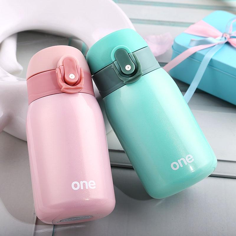 Termo Tazza calda Tazza di Vuoto In Acciaio Inox thermos Pancia tazza Termica Bottiglia per l'acqua Bicchiere Isolata Per Auto Caffè Mug
