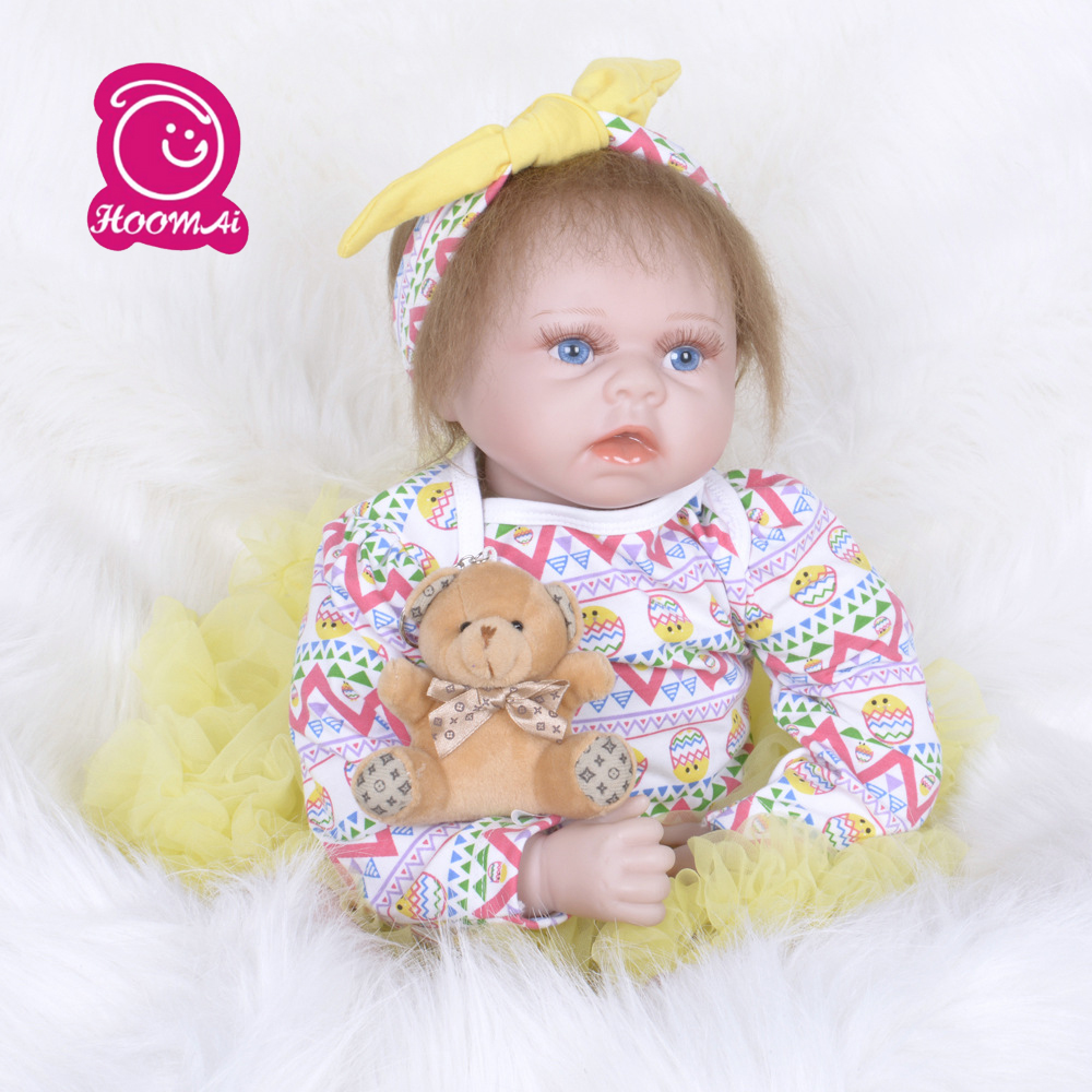 55CM Mohair Reborn Baby Silicone Cloth Body Dolls Action Figure Toys Lovely Baby Gift Kids Toys Reborn Doll55CM Mohair Reborn Baby Silicone Cloth Body Dolls Action Figure Toys Lovely Baby Gift Kids Toys Reborn Doll