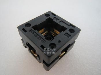 Opentop 100 oryginalne i nowe OTQ-48-0 5-03 QFP48 TQFP48 LQFP48 IC spalania siedzenia Adapter testowania miejsce badania testowania gniazd ławki tanie i dobre opinie Tester kabli JINYUSHI
