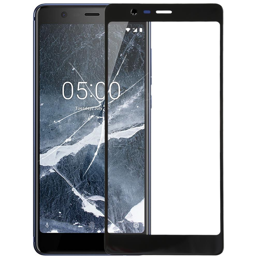 2019 New LCD Front Touch Glass Lens Panel For <font><b>Nokia</b></font> <font><b>5</b></font>.1 TA 1024 1027 1044 <font><b>1053</b></font> Touch <font><b>Screen</b></font> Outer Lens Digitizer Glass image