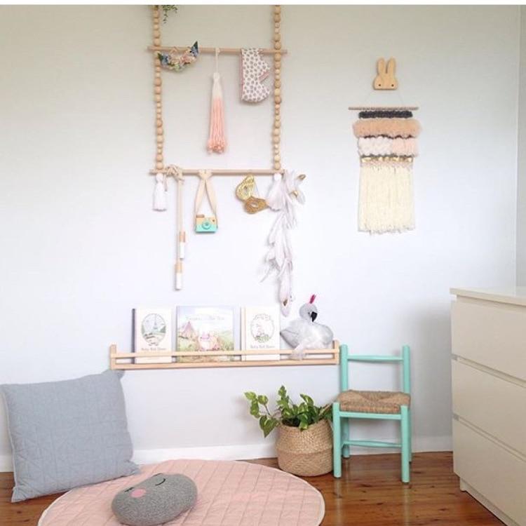 2018 Nauji INS vaikai Kūdikių mediniai spausdinimo sienos - Organizavimas ir saugojimas namuose - Nuotrauka 1