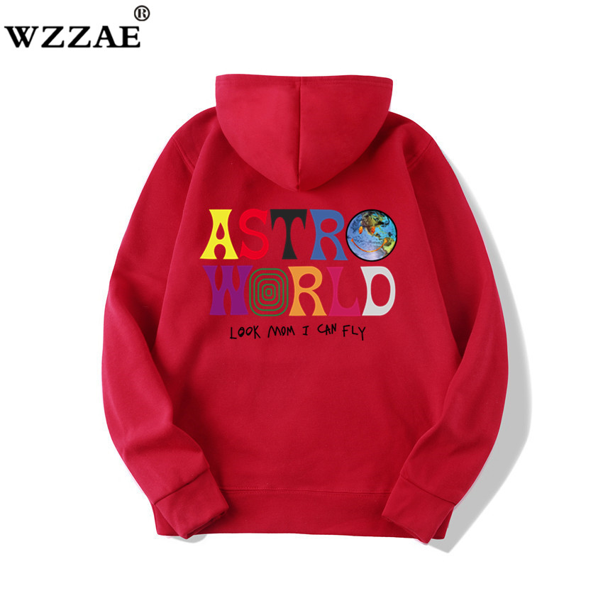 Fashion Letter ASTROWORLD HOODIE street wear Man woman Pullover Sweatshirt 40