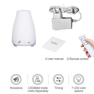 Image 5 - KBAYBO aroma essential oil diffuser aromatherapy air humidfier cold cool mist maker with remote control LED night light for home