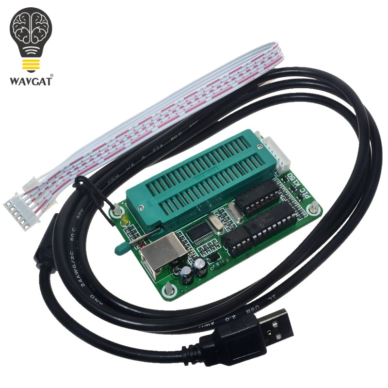 1SET PIC Microcontroller USB Automatic Programming Programmer K150 ICSP Cable