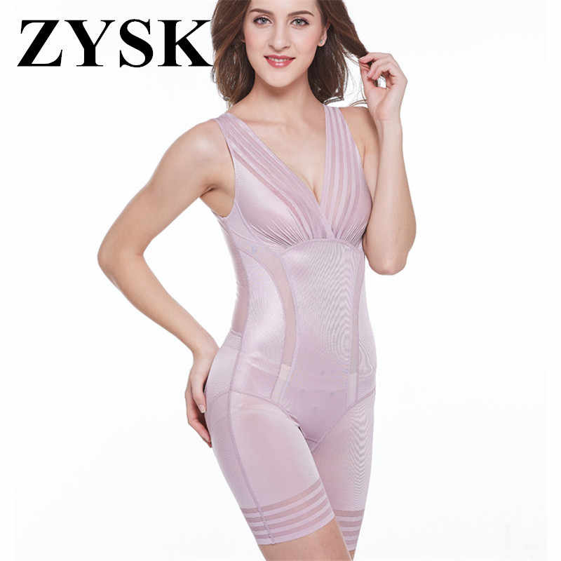 31928d3d8f New 2019 Ladies Slimming Bodysuits Shapewear for Women Ultra Thin High  Waist Shaping Panty Deep V