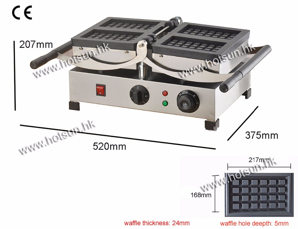 Electric 180 Degree Swing Turntable Waffle Maker Machine Baker Iron 180 degree turntable electric liege swing belgian waffle maker machine baker
