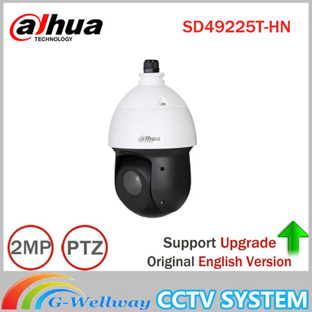 Dahua 2MP 25x Starlight IR PTZ Network Camera SD49225T-HN High Speed IP Dome Camera 16X Digital Zoom IP66 Waterproof Network Cam