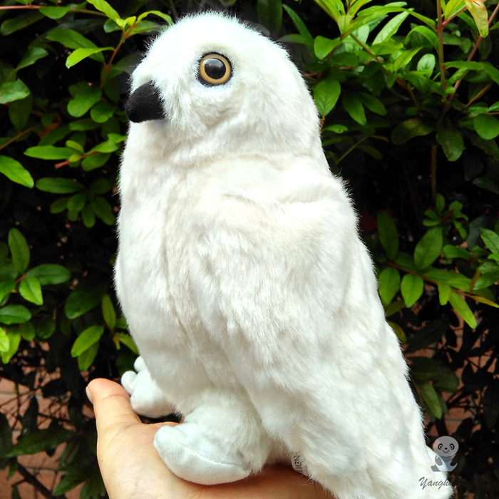 Plush Toys  Cute  White  Owl  Doll  Baby Toy Birthday Gift  Ornaments  Dolls super soft  hot sale 2pcs 18cm super cute night owl plush toy doll baby toys owl stuffed animal doll best gift for kid free shipping