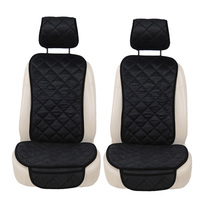 2PCS Velvet Seat Car Chair Cover Auto Seat Covers Car Seat Cushion Seat Cover Car Protector For tesla model 3 fiat 500