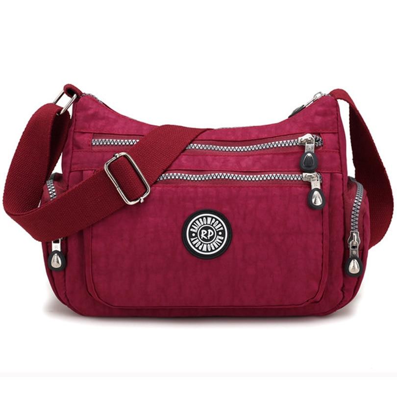 Crossbody-Bag Handbags Messenger-Bag Travel Nylon Hot-Sales High-Capacity Casual Women's