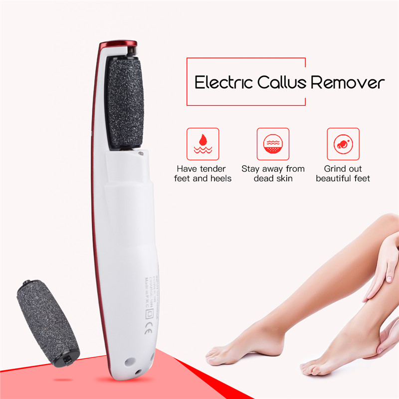 Electric Pedicure Foot Care Tool Callus Remover USB Charge Rechargeable Foot File Callus Removal Shaver Dead Dry Skin Remover electric foot dead skin exfoliator callus remover rechargeable pedicure foot care tool feet dry skin removal