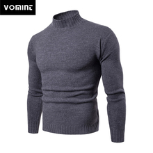 Vomint 2019 Brand New Mens Pullovers Sweaters Turtleneck Sweaters Basic Casual Must Have Icons Long Sleeves High Collar Sweater