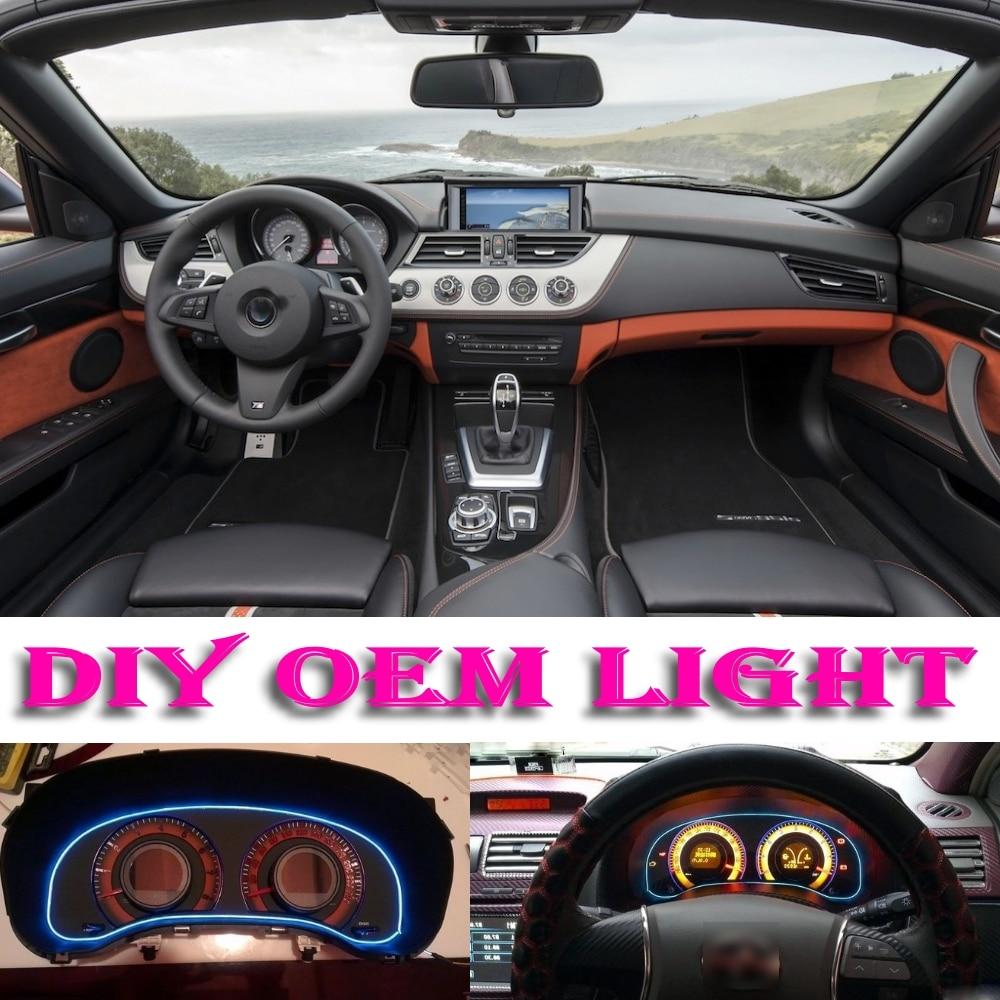 Bmw Z4m Interior: Car Atmosphere Light Flexible Neon Light EL Wire Interior