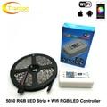 RGB LED Strip 5050 5m + Wifi LED RGB Controller DC12V 60LED/m RGB Flexible LED Light Sets.