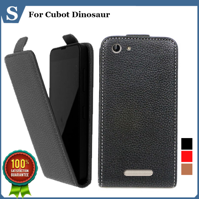 Factory price , Top quality new style flip PU leather case open up and down for Cubot Dinosaur, gift