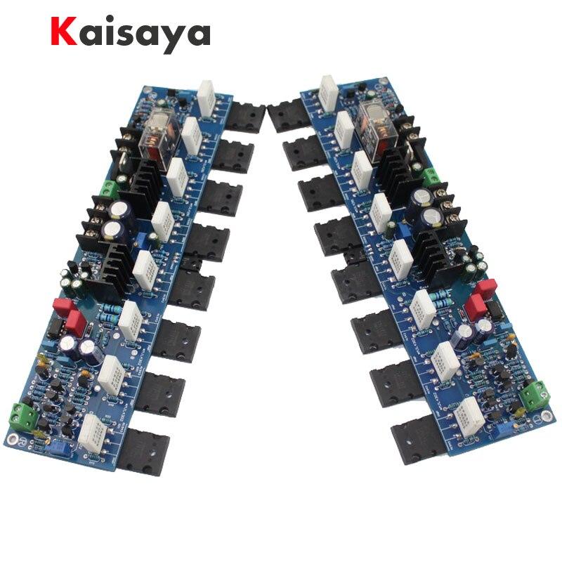 2pcs E405 300W A1943/C5200 2SA1930/2SC5171 300W Golden Voice Reference Accuphase Power AMP Amplifier Board Circuit Module 2sa1943 2sc5200 a1943 c5200