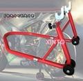 Motocross rear wheel stand motorcycle rear wheel holder