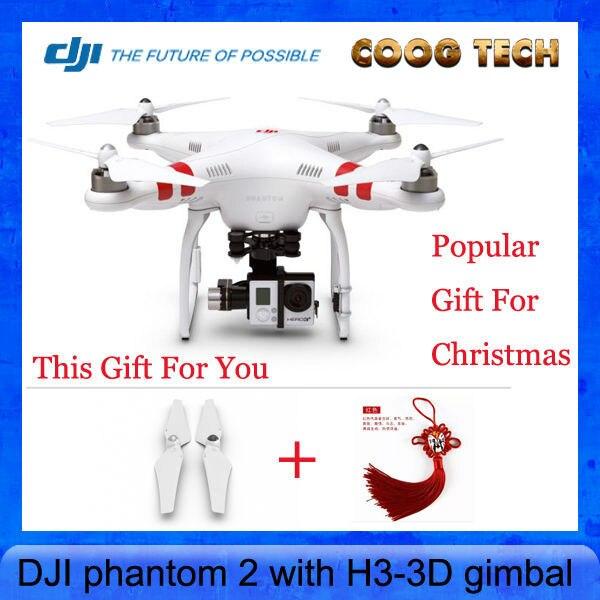 2015 hot sale phantom 2 rc quadcopter professional drone DJI Phantom 2 With H3-3D Camera Gimbal RTF 2.4GHz vs DR0087 TALI H500