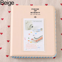 64 Pockets Mini Familie Fotoalbum Gallery voor Instant Camera Foto(China)