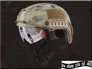 Image 5 - Emerson FAST Helmet With Protective Goggle BJ Type Helmet Military Airsoft Helmet tactical Army Helmet    free shipping