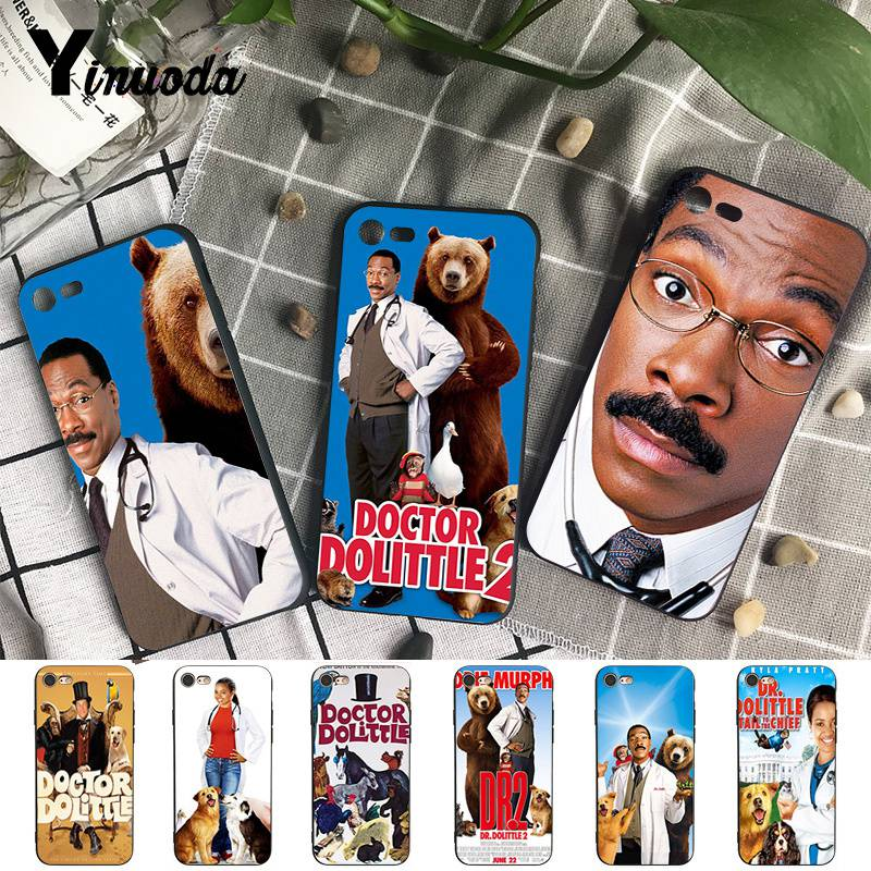 Phone Bags & Cases Collection Here Yinuoda For Iphone 7 Xsmax Case Doctor Dolittle First-rate Phone Accessories Case For Iphone X 8 7 6 6s Plus X 5s Se Xr Xs Xsmax Half-wrapped Case