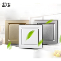 40W Low Noise Window Ceiling Wall Mount Ventilation Exhaust Fan Bathroom Kitchen Blower Home System ITAS9903A
