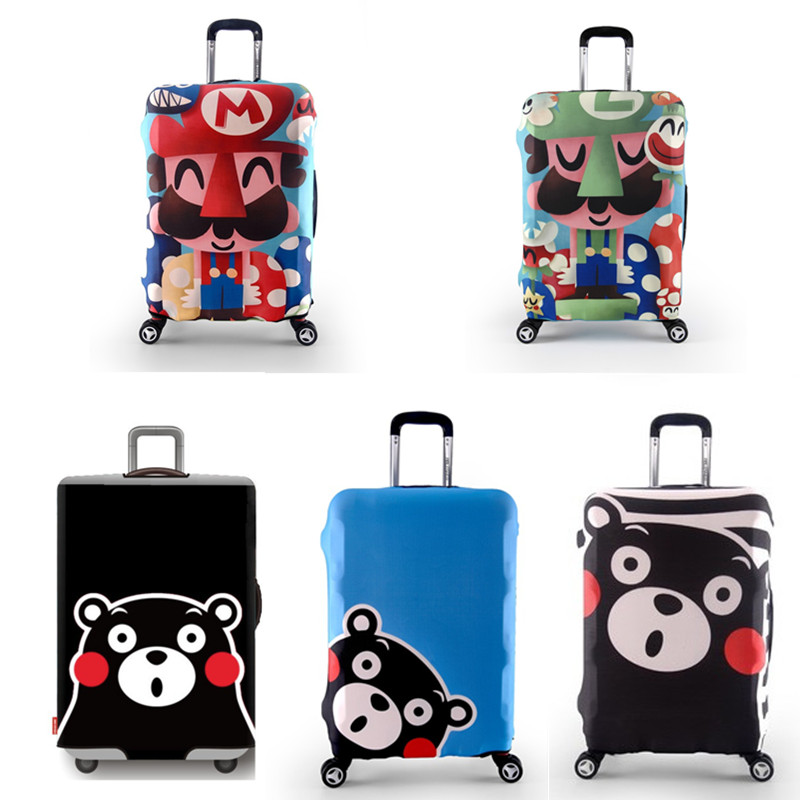 Elastic Luggage Protective Cover For 18 32 inch Trolley Suitcase Protect Dust Bag Case Child Cartoon