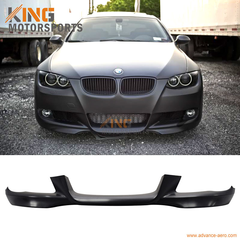FIT 07 08 09 10 BMW E92 328i 335i URETHANE FRONT BUMPER LIP SPOILER OE STYLE PP цены