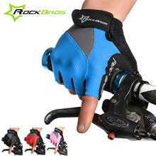 Rockbros Cycling font b Gloves b font Men Women Summer Half Finger Outdoor Sports Breathable MTB