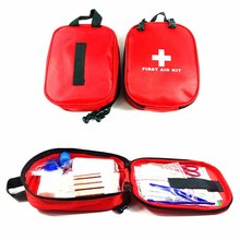 17PCS/SET Compact Size Emergency Survival Bag Outdoor Camping Travel Car First Aid Medical Kit