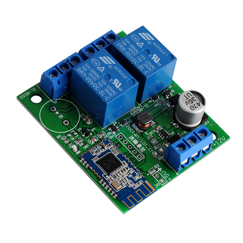 2 Channel Relay Module Bluetooth 4.1BLE For Apple Android Phone IOT Internet Of Things