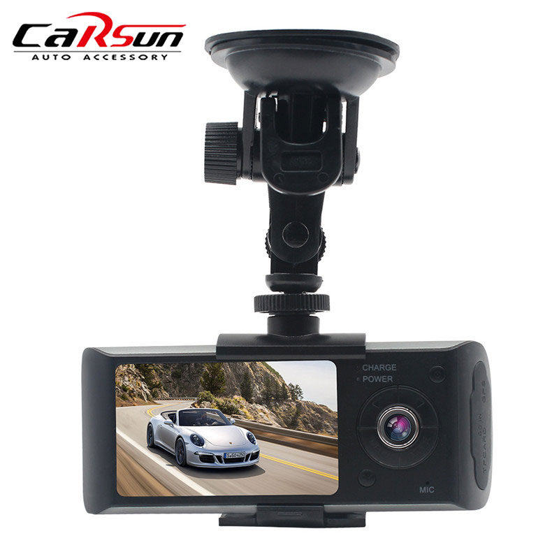 Enregistreur vidéo DVR caméra tableau de bord caméra DVR voiture avec GPS voiture/Auto caméra enregistreur Cycle enregistrement Dashcam