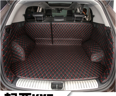 High quality Special car trunk mats for KIA Sportage 2018 2016 waterproof boot carpets cargo liner for Sportage 2017 styling