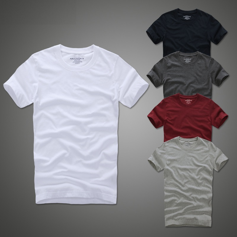 Summer   t     shirt   2018 new 100% cotton solid   t  -  shirt   men short sleeve camiseta
