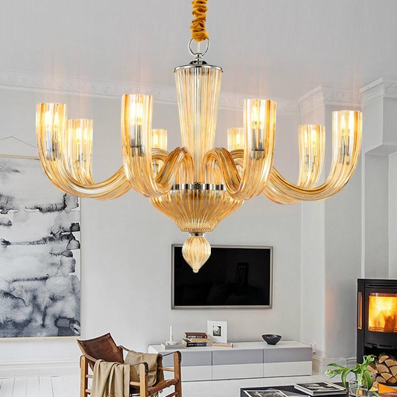 Light Filled Contemporary Living Rooms: Modern LED Hanging Lights Living Room Chandelier Lighting