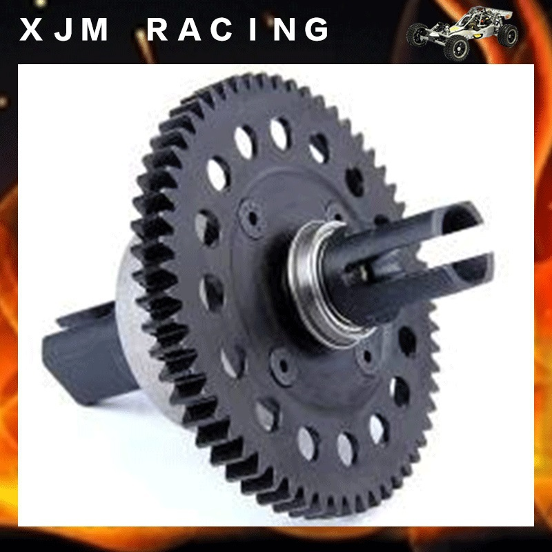 1/5 rc car Metal middle complete diff gear set/Metal middle differential assembly fit rovan LT losi 5ive-T toy parts hsp 02024 differential diff gear complete 38t for 1 10 rc model car spare parts fit buggy monster