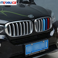 14pcs Front Grill Cover Trim ABS Chrome For BMW X5 X6 F16 F15 2014 2015 2016 Car Accessories