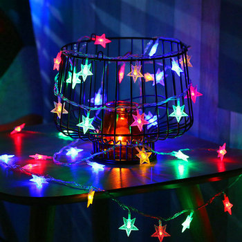 Little Star LED String Lights 5m 50LEDs / 10M 100LEDs Indoor Decoration Lighting String Christmas Lights
