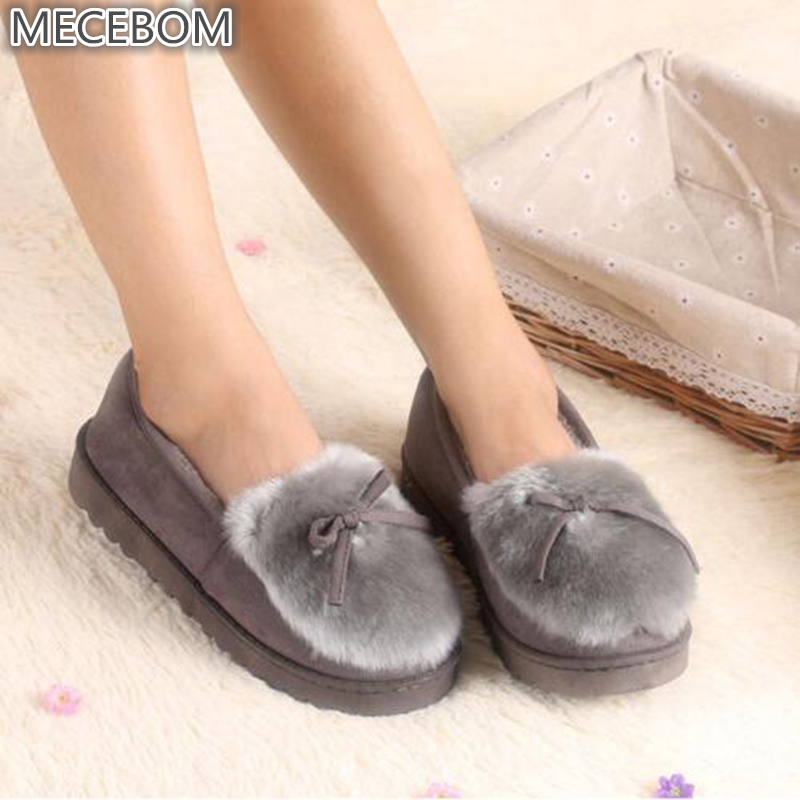 Lovely Ladies Home Floor Soft Women indoor Slippers Outsole Cotton-Padded Shoes Female Cashmere winter Warm Casual Shoes A16W