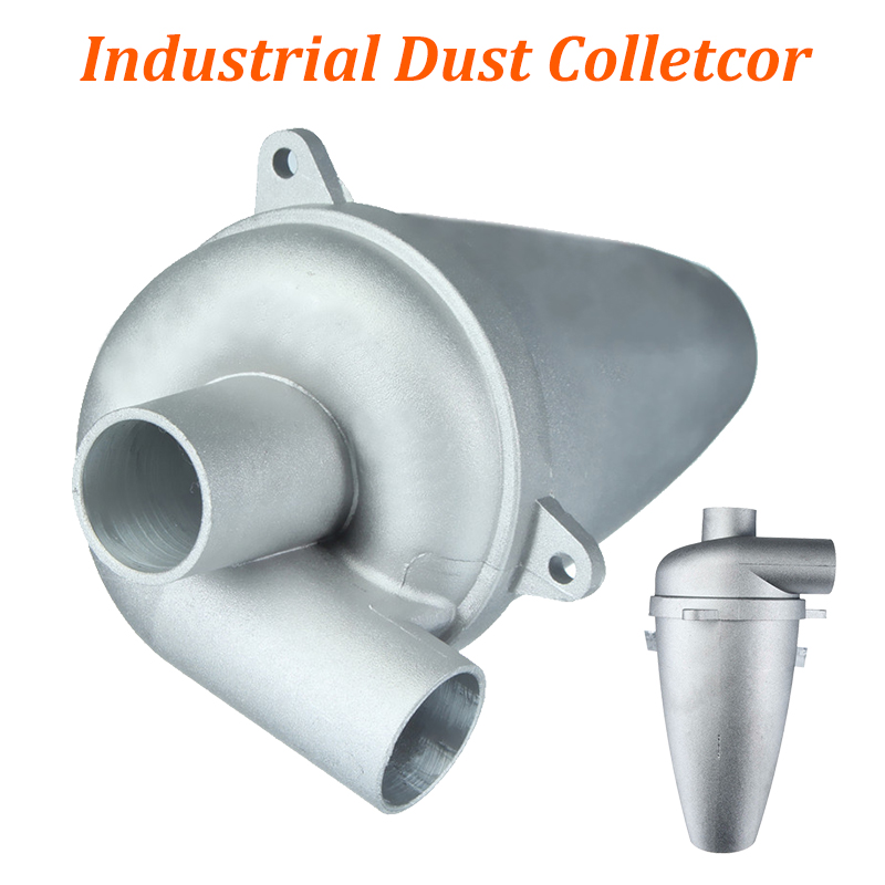 Cyclone Dust Filter For Vaccum Cleaner Fifth Generation Turbocharged Powder Dust Collector Separator Industrial Aluminium Alloy