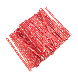 Image 5 - 200 Pcs אריזת מתנת עניבת גלישת במיוחד טוויסט קשרי מסיבת חתונה מאפיית עוגיות סוכריות תיק אותיות דפוס עניבות