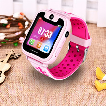 LIGE 2019 New children's smart watch LBS remote positioning SOS emergency mobile phone reminder voice chat support SIM camera(China)