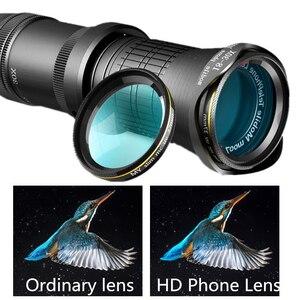 Image 4 - 18 30X hdプロ携帯電話カメラ望遠鏡レンズiphone xiaomi調節可能な望遠ズームレンズスマートフォンlentesキット