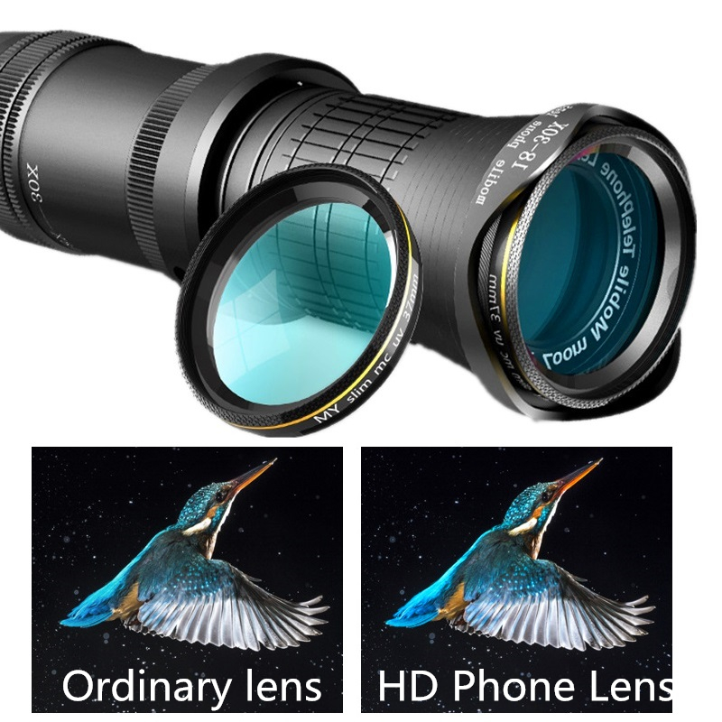 Image 4 - Adjustable Telephoto Zoom Lens 18 30X HD Professional Mobile 