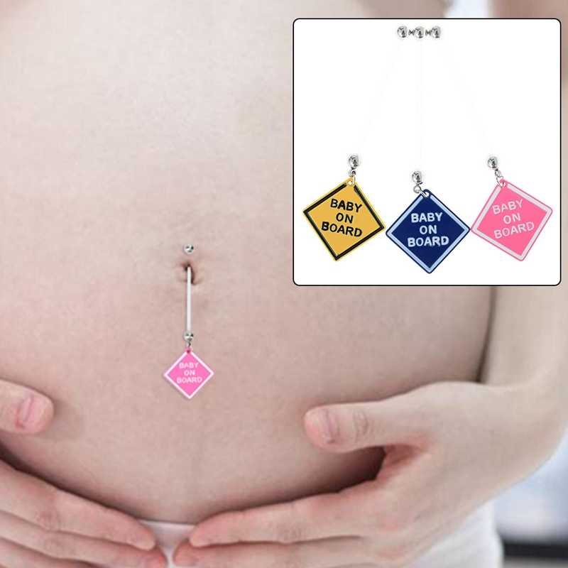 Piercing Ring Pregnancy Tag Woman Belly Button Fashion Soft Liver For Women Jewelry 1pc Flexible Navel